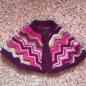 Missoni for Target Poncho Sweater 2T-3T